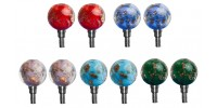 HiyaHiya Interchangeable Cable Stopper - Small, Glass Bead