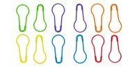 HiyaHiya Knitter's Safety Pin Stitch Markers - Multi-Color (12 pk)