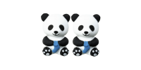 HiyaHiya Point Protectors - Small Panda Li