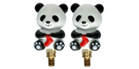 HiyaHiya Interchangeable Cable Stopper - Large Panda Li
