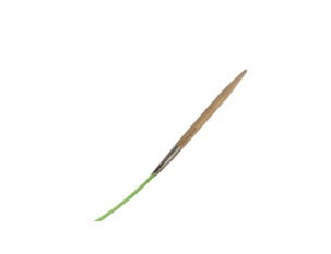 "9""  2.5 US/3mm HiyaHiya Bamboo Circular Needle"