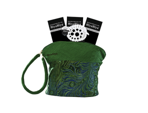 "HiyaHiya 9""  Steel Circular Sock Set with Small Project Bag"